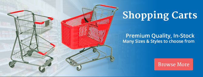 Retail Shopping Carts Wholesale