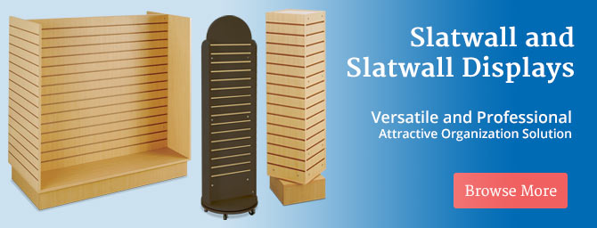 Slatwall Displays and Accessories